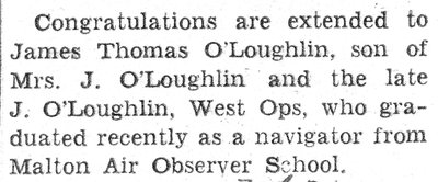 O'Loughlin, J.