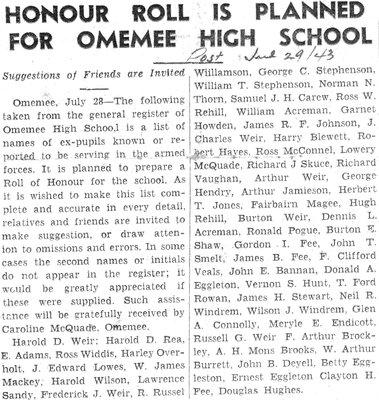 Omemee High-School