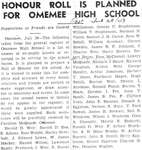 Omemee High-School