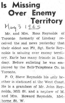 Reynolds, Earle