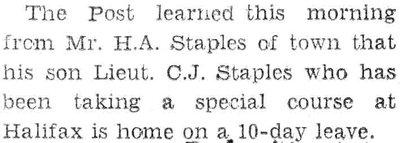 Staples, C.