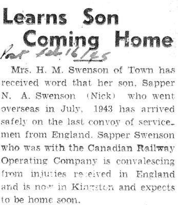 Swenson, N.