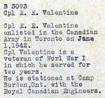 Valentine, E.E.