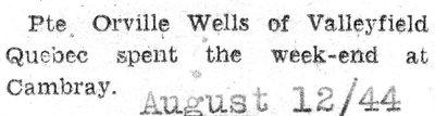 Wells, O.