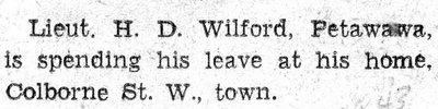 Wilford, H.D.
