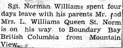 Williams, N.B.
