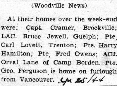 Woodville News