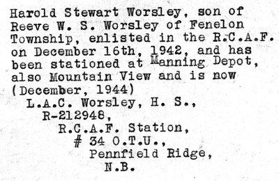 Worsley, H.S.