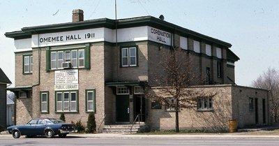 Coronation Hall, King Street, Omemee
