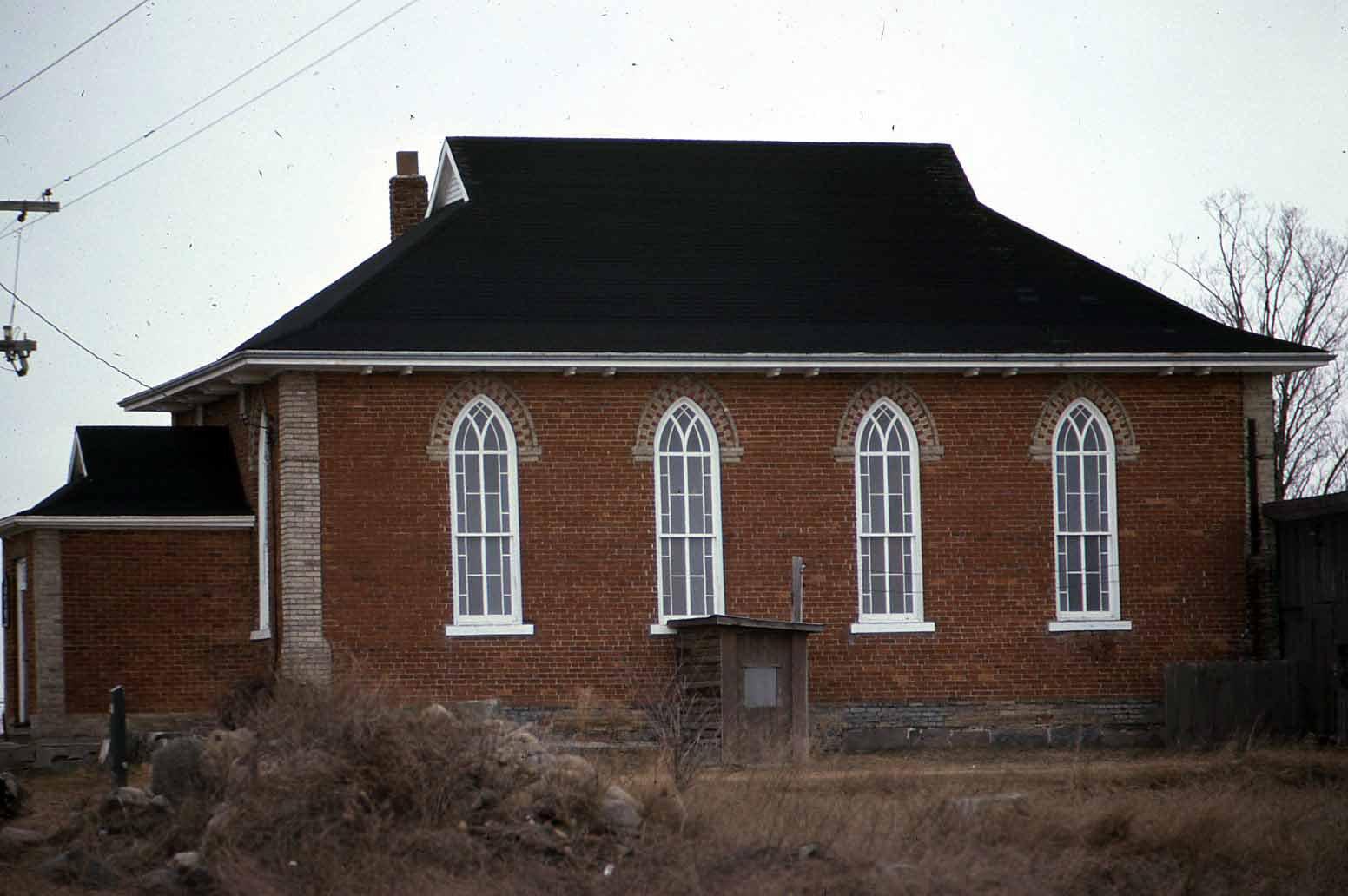 Zion United Church, 3rd Concession, Mariposa