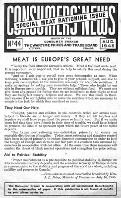 Meat is Europe's Great Need