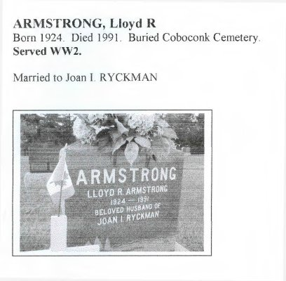 Page 127: Armstrong, Lloyd R.