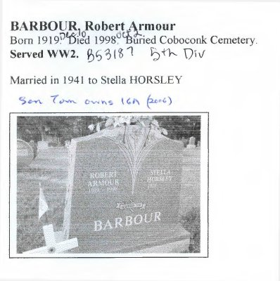 Page 129: Barbour, Robert Armour