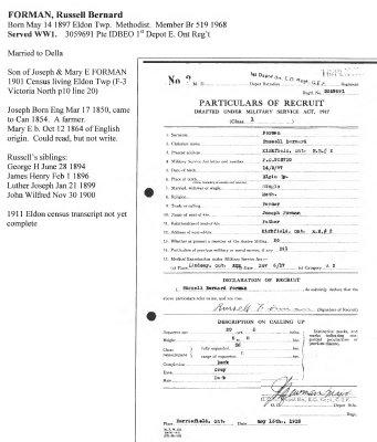 Page 220: Forman, Russell Bernard