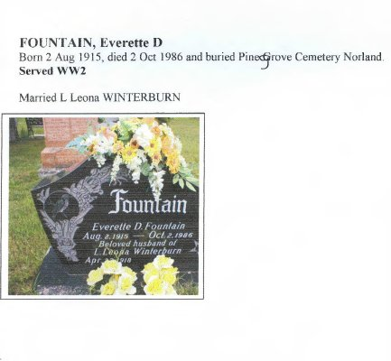 Page 222: Fountain, Everette D.