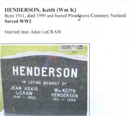 Page 237: Henderson, Wm. Keith