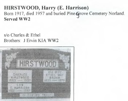 Page 238: Hirstwood, E. Harrison