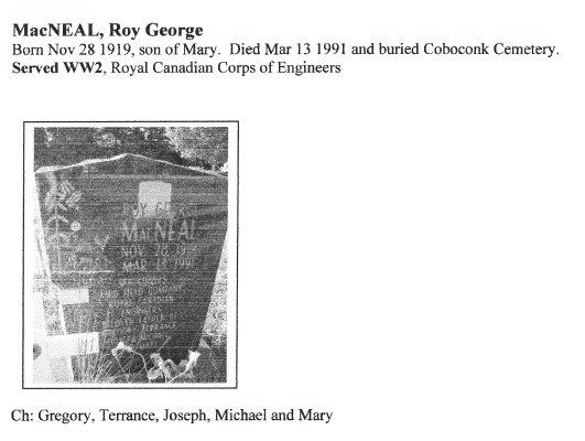 Page 256: MacNeal, Roy George