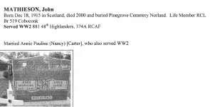 Page 263: Mathieson, John