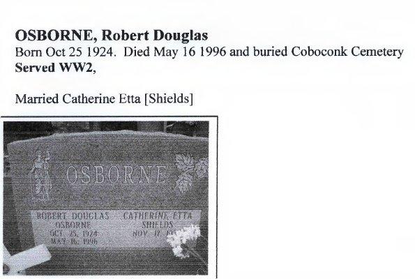 Page 283: Osborne, Robert Douglas