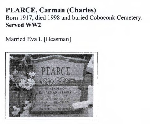 Page 285: Pearce, Carman (Charles)