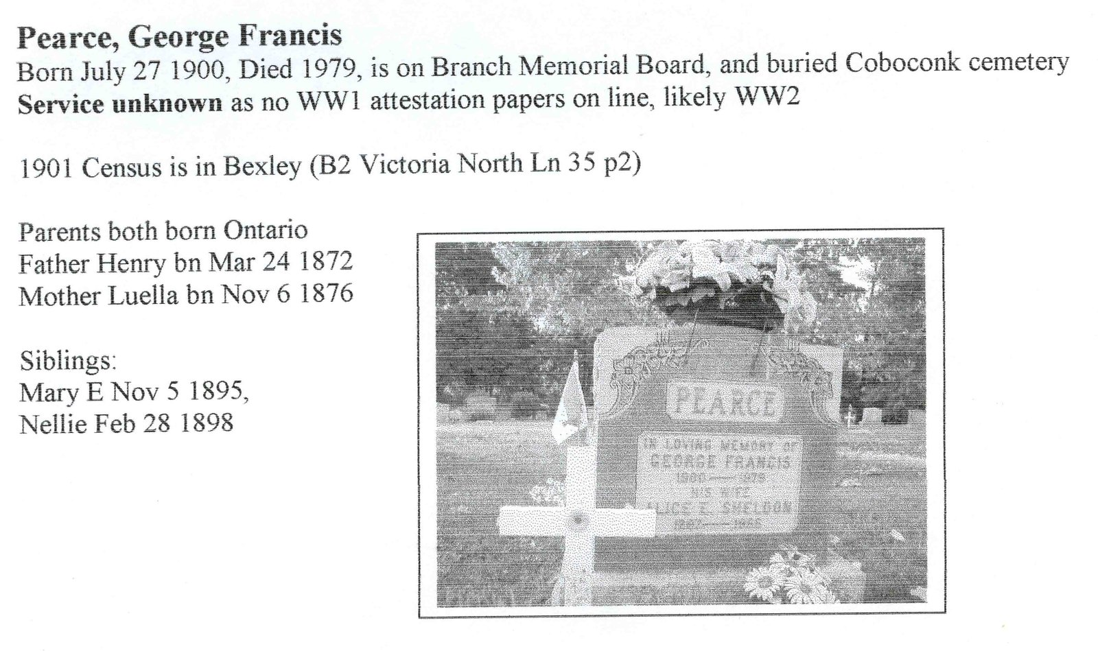 Page 286: Pearce, George Francis