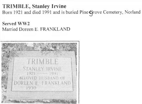 Page 347: Trimble, Stanley Irvine