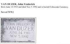 Van Duzzer, J.F.
