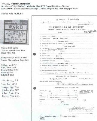 Page 361: Ward, Worthy Alexander