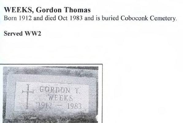 Page 377: Weeks, Gordon Thomas