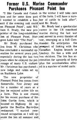 Former U.S. Marine Commander purchases Pleasant Point Inn