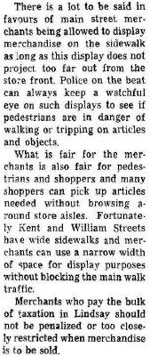 On the Main Street - 14 November 1964