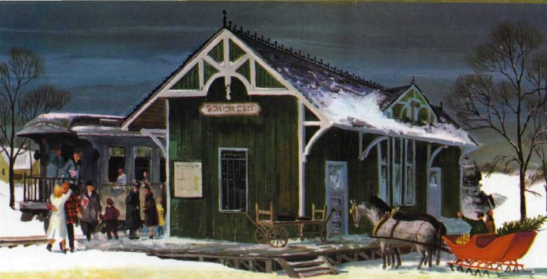 Christmas on the farm in days gone by...