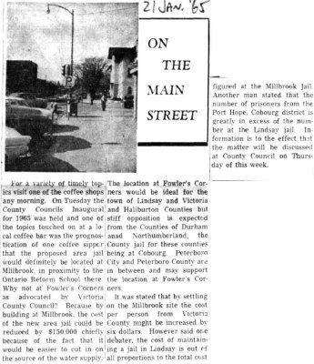 On the Main Street