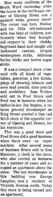 On the Main Street - 21 July 1966
