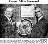 Colleagues Pay Tribute to Ford W. Moynes Veteran Newsman - 1967