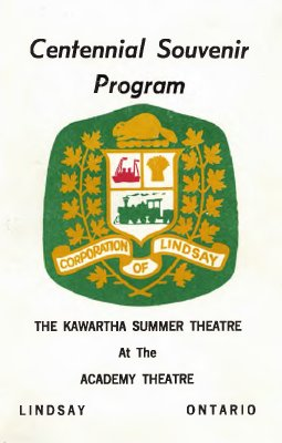 Centennial Souvenir Program