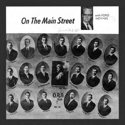 On the Main Street - 28 June 1967