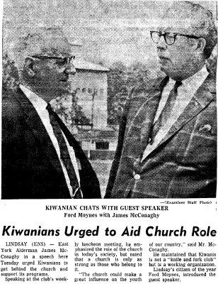 Kiwanians Urged to aid Church role - 12 June 1968