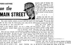 On the Main Street - 1969
