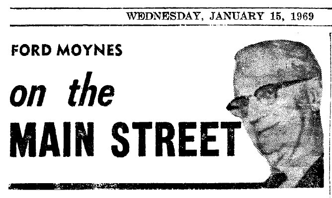 On the Main Street - 15 January 1969