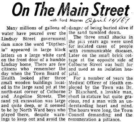 On the Main Street - 14 April 1969
