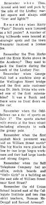 On the Main Street - 3 December 1969