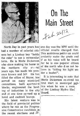 On the Main Street - 26 Feb 1972
