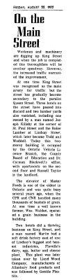 On the Main Street - 23 Aug 1972