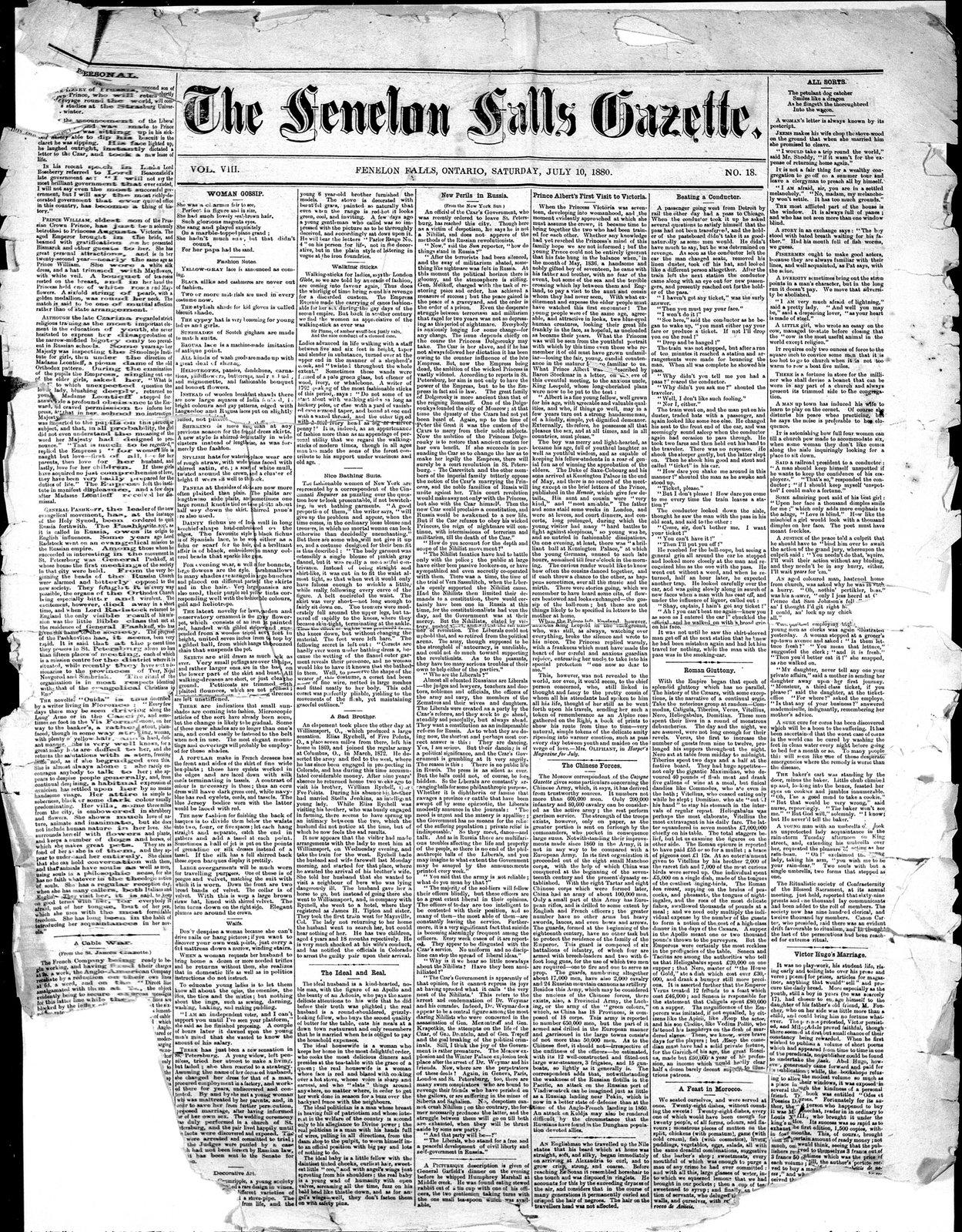 Fenelon Falls Gazette
