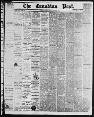 Canadian Post (Lindsay, ONT), 30 May 1879
