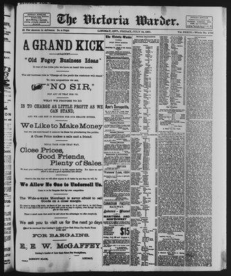 Victoria Warder (Lindsay, ONT), 24 Jul 1891