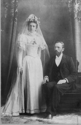 Dr. and Mrs. George Wesley Hall Wedding Photo