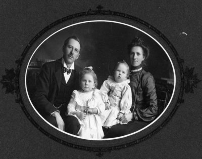 Dr. George Wesley Hall and Family